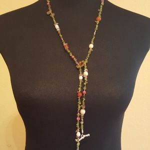 NR Jewelry - ALL NATURAL MULTISTONE NECKLACE BY NR